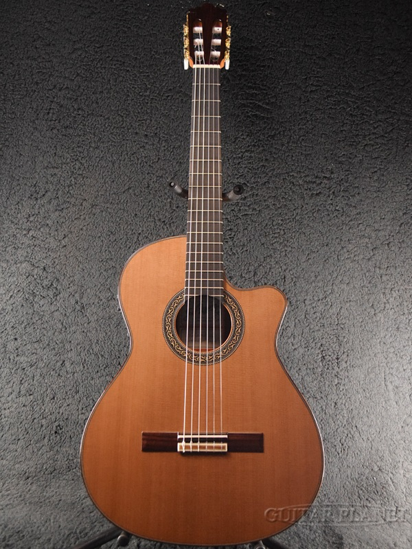 Jose Ramirez 4NCWE Cedar 杉/ローズウッド 新品[ホセ・ラミレス][Rosewood][Natural,ナチュラル][Classical Guitar,エレガット,クラシックギター]