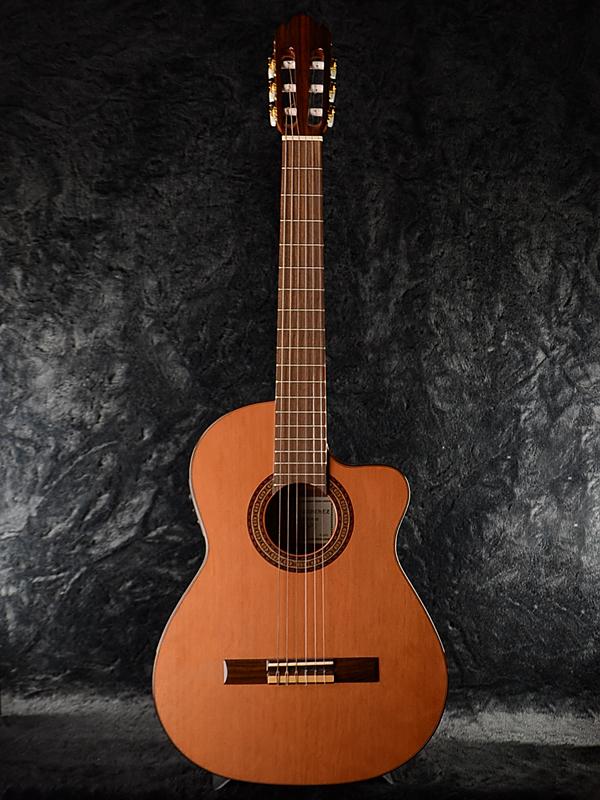 Antonio Sanchez EG-3 Cedar 新品 スペイン製[アントニオサンチェス][シダー,杉][ガットギター,エレガット][ピエゾピックアップ,コンデンサーマイク][Classical Guitar,クラシックギター]
