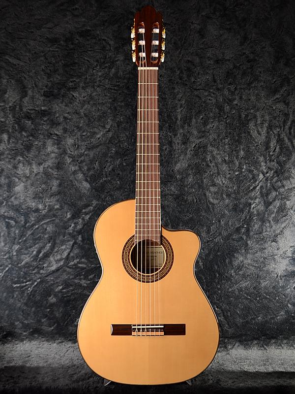 Antonio Sanchez EG-3 Spruce 新品 スペイン製[アントニオサンチェス][スプルース][Natural,木目][ガットギター,エレガット][ピエゾピックアップ,コンデンサーマイク][Classical Guitar,クラシックギター]