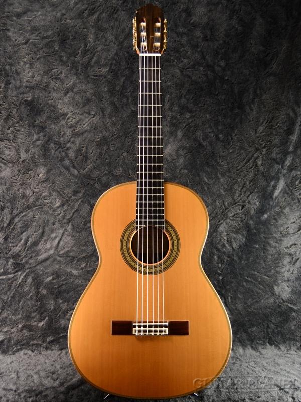 Marco Antonio Tejeda CHAMBERI 640mm 杉/グリーンエボニー 新品[マルコ・アントニオ・テヘダ][Natural,ナチュラル][Classical Guitar,クラシックギター]