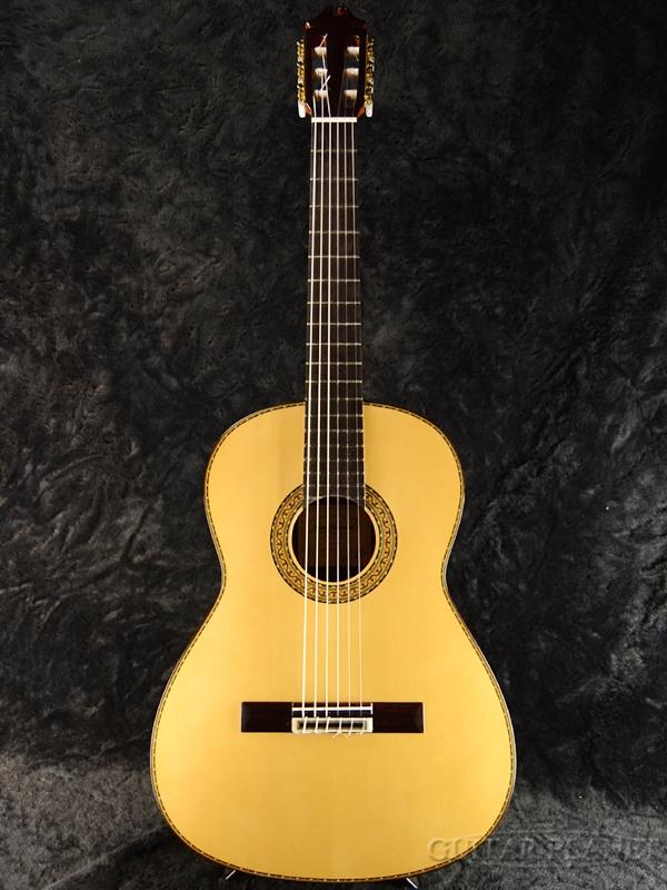 Juan Hernandez Concierto Spruce 630mm 松/ローズウッド 新品[ホアンエルナンデス][スペイン製][Classical Guitar,クラシックギター,Flamenco,フラメンコ]