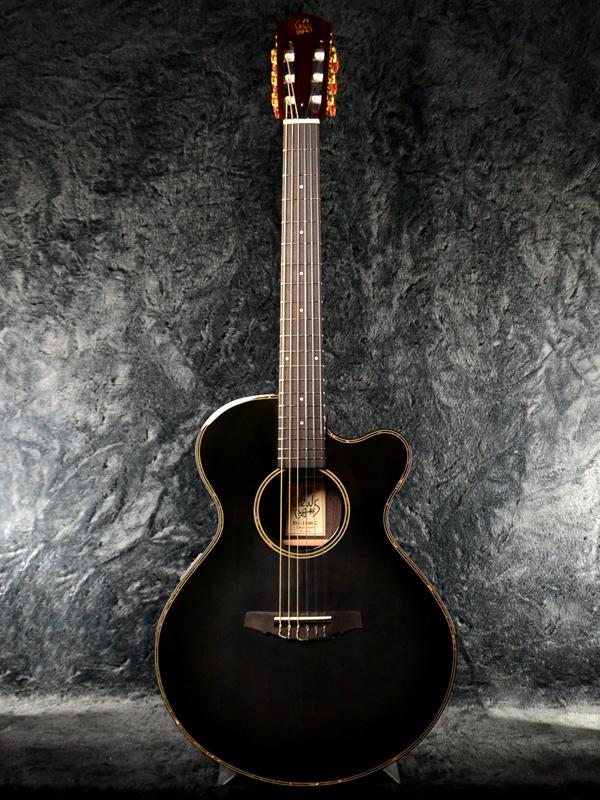 Crews Maniac Sound EG-1500C brand new black [cruise] black [Black] [piezo pickup, condenser mic] [elegant, Classical Guitar, classical guitar