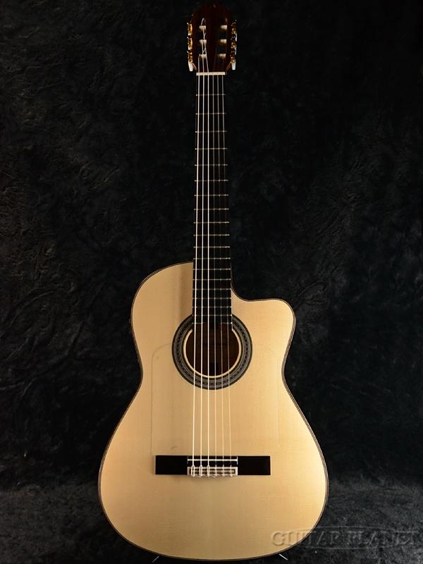 Juan Hernandez SAMBA Cutaway 松 新品[ホアンエルナンデス][サンバ][Natural,ナチュラル][Classical Guitar,クラシックギター,Flamenco,フラメンコ,エレガット]
