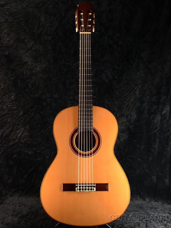 【中古】松岡良治 M100L 630mm 1999年製[Matsuoka Ryoji][Natural,ナチュラル][Classical Guitar,クラシックギター]【used_アコースティックギター】