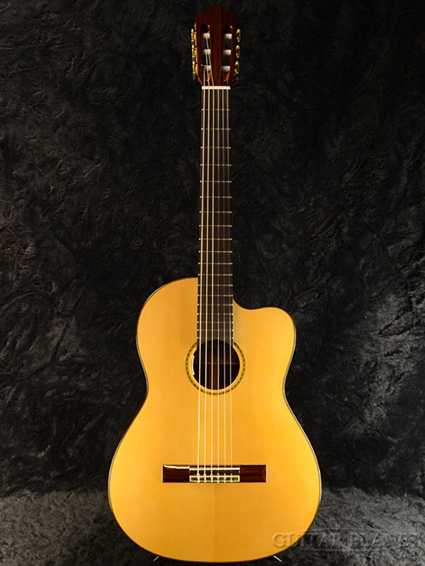 Matsui Hiroyasu M-1CW 松/マダガルカルローズ 新品[松井啓泰][ナチュラル,Natural][Classical Guitar,クラシックギター,エレガット]