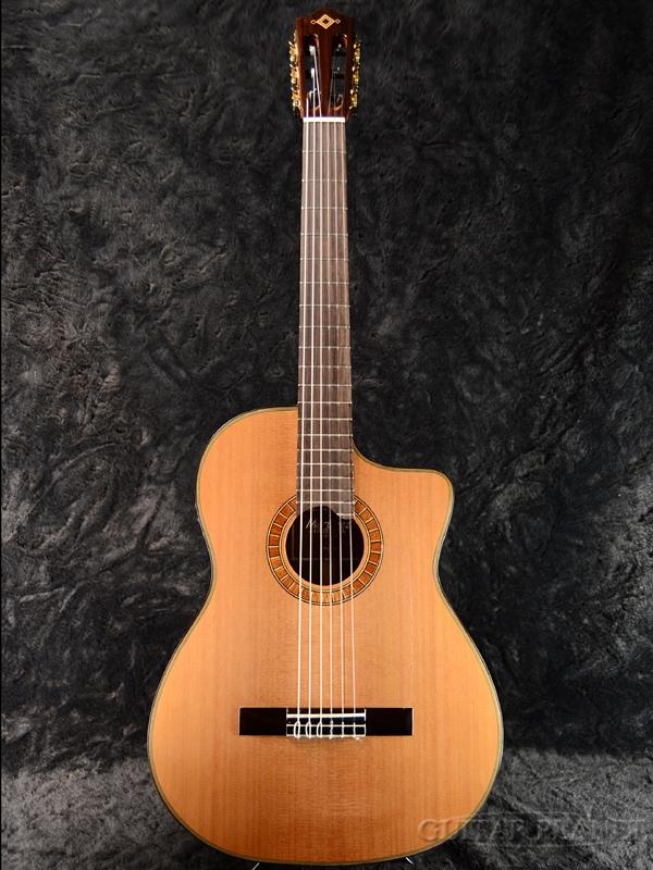 Martinez MP-12MH 杉/マホガニー 新品[マルティネス][ピックアップ搭載][Classic Guitar,クラシックギター,ガットギター,エレガット]