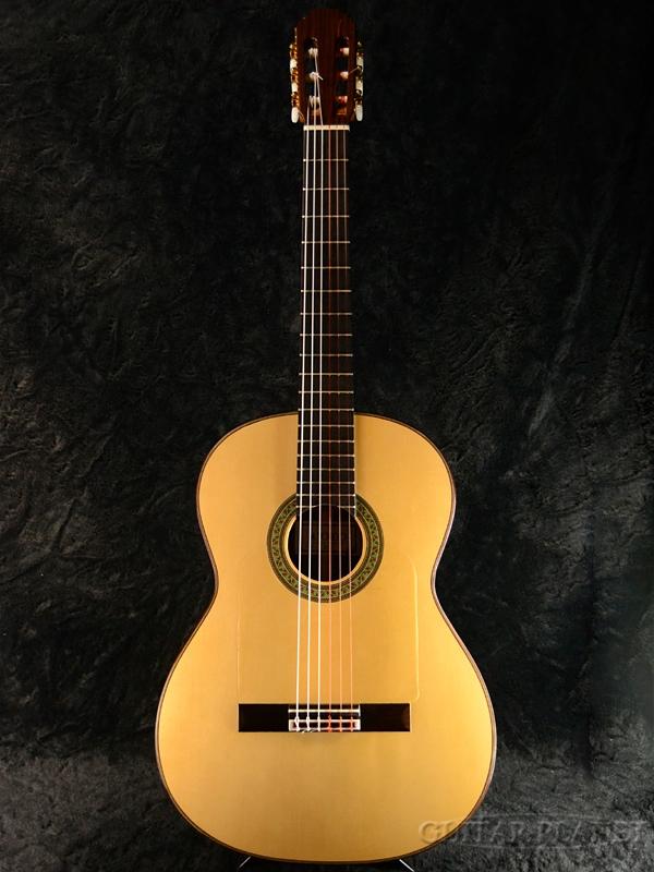Yokoo Mahito No.30 Flamenco フラメンコ 黒 両用 新品[横尾真人][ナチュラル,Natural][Classical Guitar,クラシックギター]