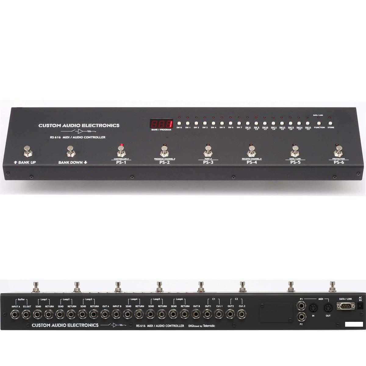Custom Audio Japan MIDI & Audio Controller RS616 新品