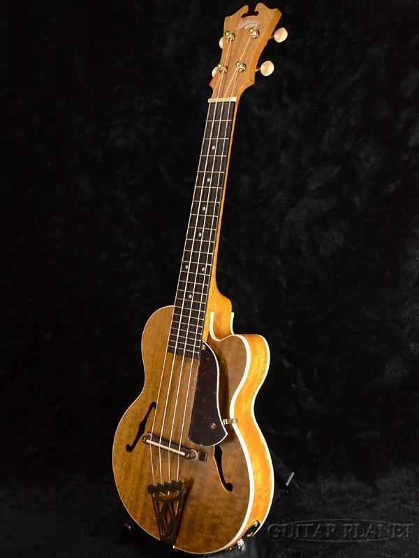D ' 吉利亩-6 CPS 纽约州新品牌 PU 与音乐会夏威夷四弦琴