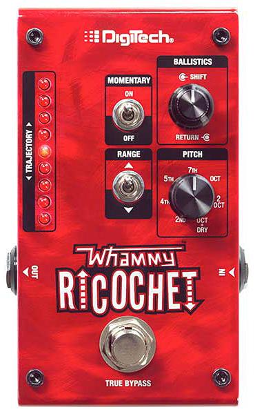 【正規品】DigiTech Whammy Ricochet 新品 ワーミーペダル[デジテック][ワーミーリコシェ][Pitch Shifter,ピッチシフター][Effector,エフェクター]