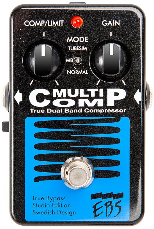 EBS Multi Comp Studio Edition 新品 アナログコンプレッサー[マルチコンプ][ベース用][Analog Compressor][Effector,エフェクター]