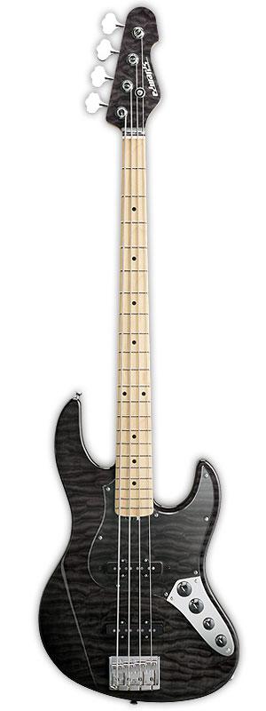 Edwards E-AM-150QM 新品 シースルーブラック[エドワーズ][ESPブランド][国産][Jazz Bass,ジャズベースタイプ][See Through Black,黒][Electric Bass,エレキベース]