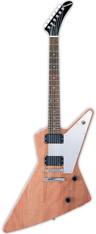 Edwards E-EX-160E 新品 ナチュラル[エドワーズ][国産][Explorer,エクスプローラータイプ][Natural][EMGピックアップ搭載][Electric Guitar,エレキギター]