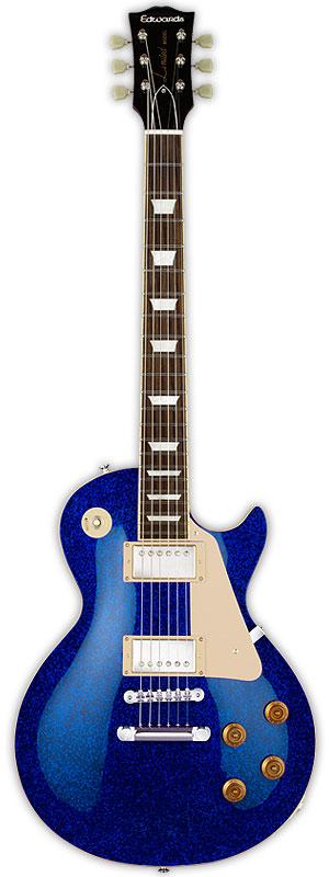 【名入れ無料】 Edwards E-LP-108SD 新品 ブルースパークリング[エドワーズ][国産][ESPブランド][Les Paul,レスポール][Blue Sparkling,青][Seymour Duncan,ダンカンピックアップ][Electric Guitar,エレキギター], 中古PCのアールキューブ c21050ca