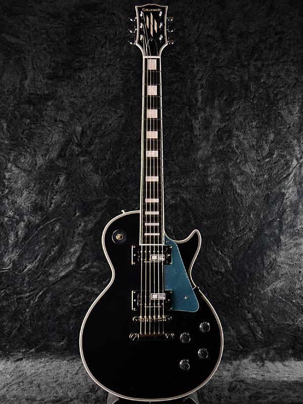 Edwards E-LP-130CD JS新货黑色[爱德华兹][国产][ESP名牌][Les Paul Custom,莱斯·保罗特别定做Les Paul Custom,莱斯·保罗特别定做型][Black,黑][Seymour Duncan,邓肯挑选搭载][Electric Guitar,电子吉他]