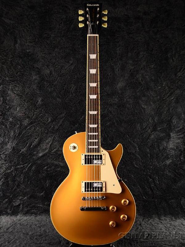 Edwards E-LP-125SD 新品 ゴールド[エドワーズ][国産][ESPブランド][Les Paul,レスポールタイプ][Gold,金][Seymour Duncan,ダンカンピックアップ搭載][Electric Guitar,エレキギター]
