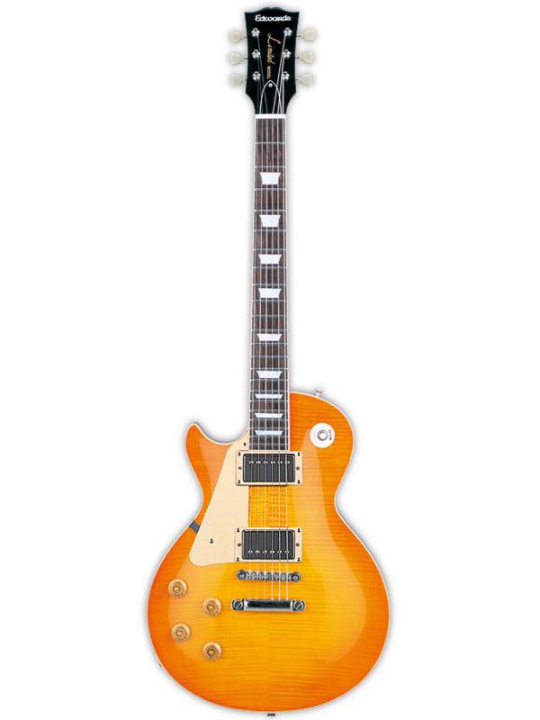 【受注生産/納期3-4ヶ月】Edwards E-LP-125SD Left Hand 新品 ヴィンテージハニーバースト[エドワーズ][国産][ESPブランド][Les Paul,レスポールタイプ][Vintage Honey Burst][レフト,左][Electric Guitar,エレキギター]