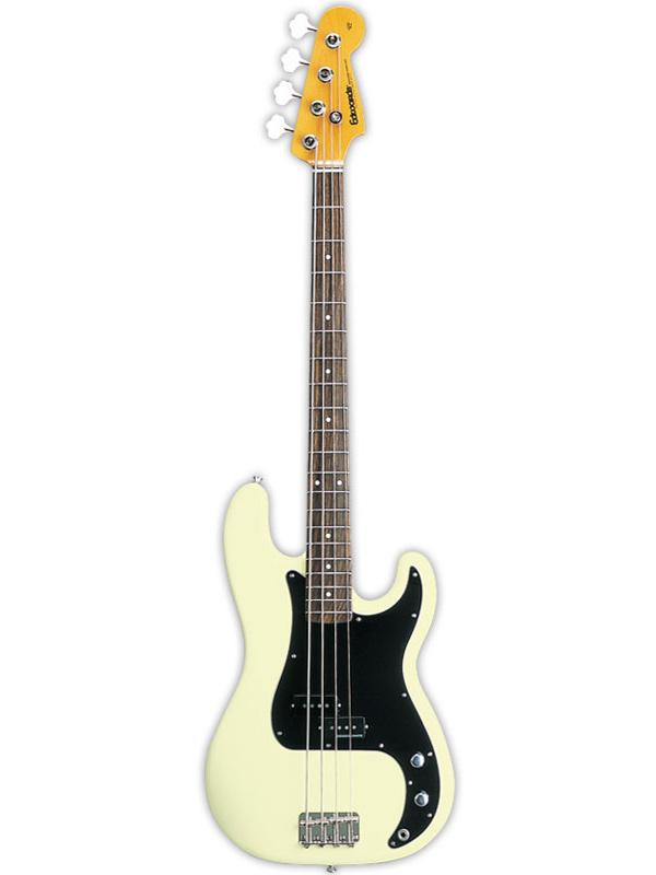 Edwards E-PB-95R/LT 新品 ヴィンテージホワイト[エドワーズ][国産][ESPブランド][Precision Bass,プレシジョンベースタイプ,プレベ][Vintage White,白][Seymour Duncan,ダンカンピックアップ搭載][Electric Bass,エレキベース]