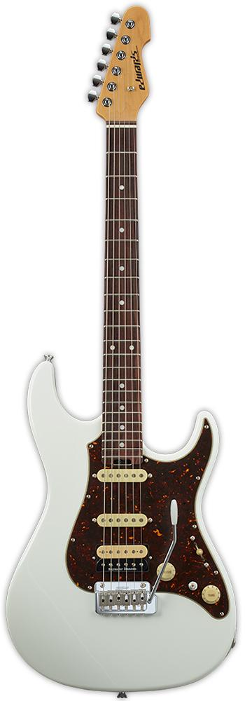 Edwards E-SN-ALR 22/SSH/R White 新品[エドワーズ][国産][ホワイト,白][Stratocaster,ストラトキャスタータイプ][Electric Guitar,エレキギター]