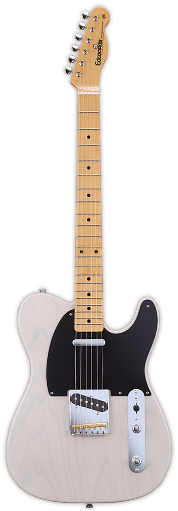 Edwards E-TE-98ASM 新品 ブロンド[エドワーズ][国産/日本製][Telecaster,テレキャスタータイプ][Blonde,White,ホワイト,白][Electric Guitar,エレキギター]