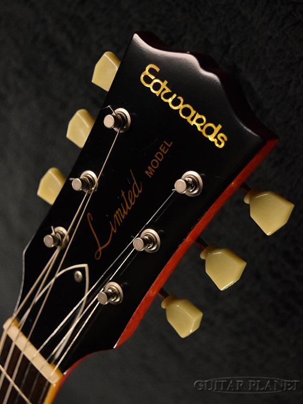 Edwards E-LP-98 LTS-Vintage Honey Burst--2011 year