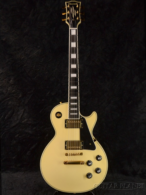 guitar planet edwards e lp 113ltc brand new made in japan les paul type vintage white. Black Bedroom Furniture Sets. Home Design Ideas