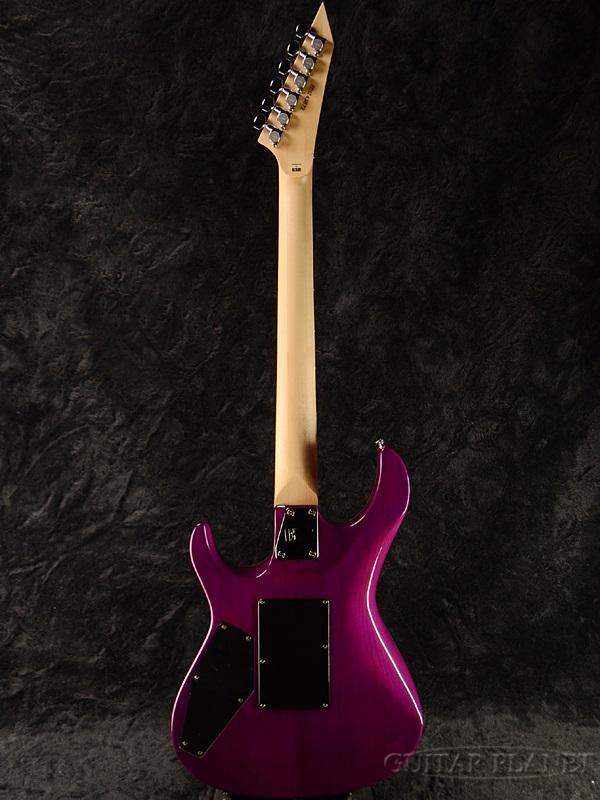 爱德华兹 E-MV-125FR 新透明紫色 [爱德华兹] 和 [ESP 品牌] [吉他,开始施法者] [看到通过紫色,紫色] [电吉他、 电吉他]