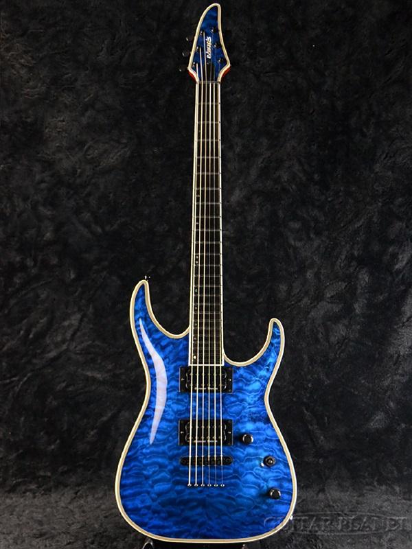 Edwards E-HR-145NT/QM 新品 ブラックアクア[エドワーズ][ESPブランド][Horizon,ホライゾン][Black Aqua,Blue,ブルー,青][Electric Guitar,エレキギター]