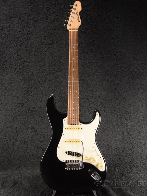 【中古】Edwards E-SN-123 TAKURO -Black- 2010年製[エドワーズ][ESPブランド][SNAPPER][9mm Parabellum Bullet,菅原卓郎][ブラック,黒][Stratocaster,ストラトキャスタータイプ][Electric Guitar,エレキギター][ESN123]【used_エレキギター】