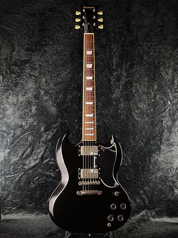 爱德华兹 E-SG-100LT2 全新黑色 [爱德华兹] 和 [首页] [ESP 品牌] [黑色,黑色] [西摩邓肯,邓肯拾音器] [电吉他、 电吉他]