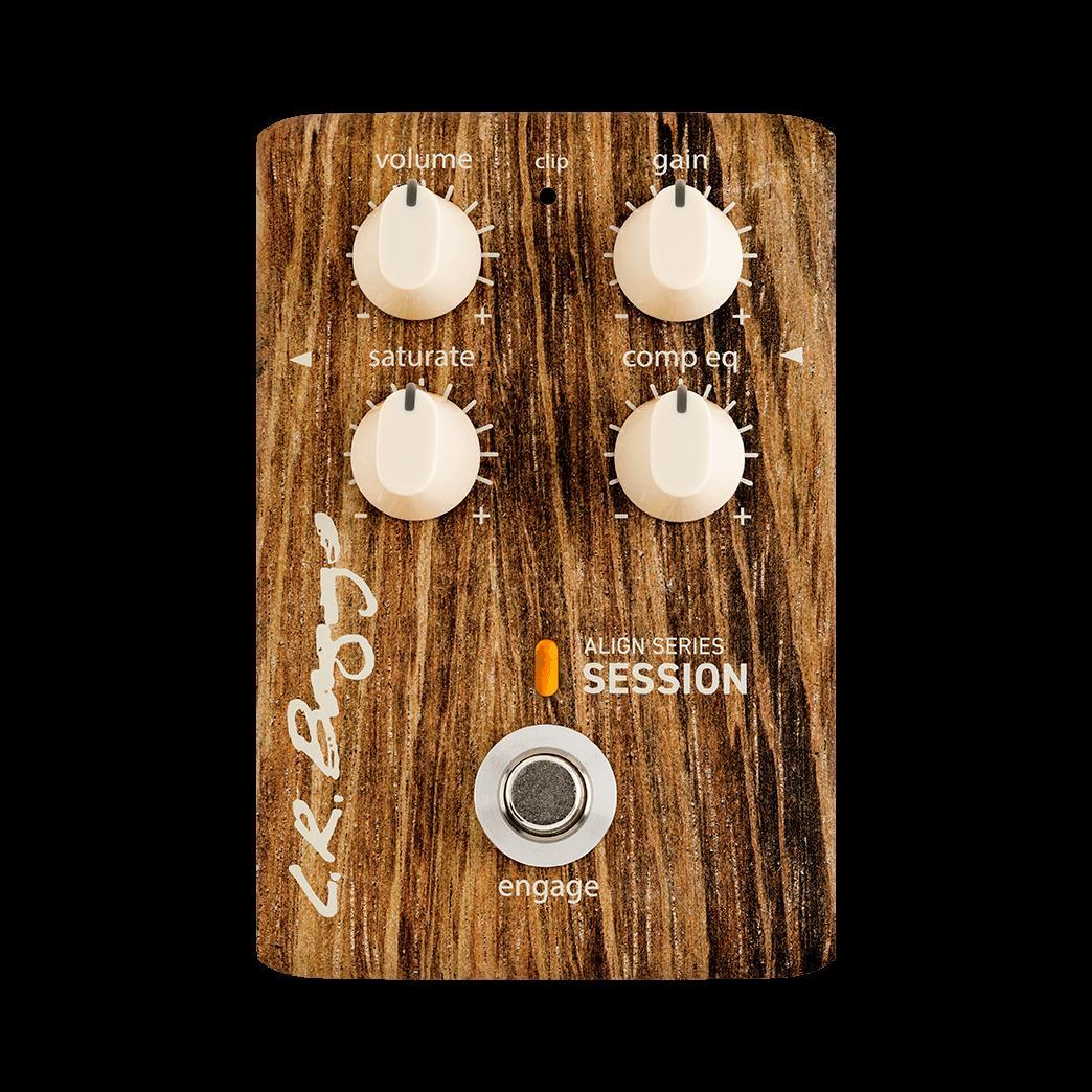 L.R.Baggs ALIGN SERIES SESSION 新品 アコースティックギター用コンプレッションイコライザー[セッション][Compression EQ][Effector,エフェクター]
