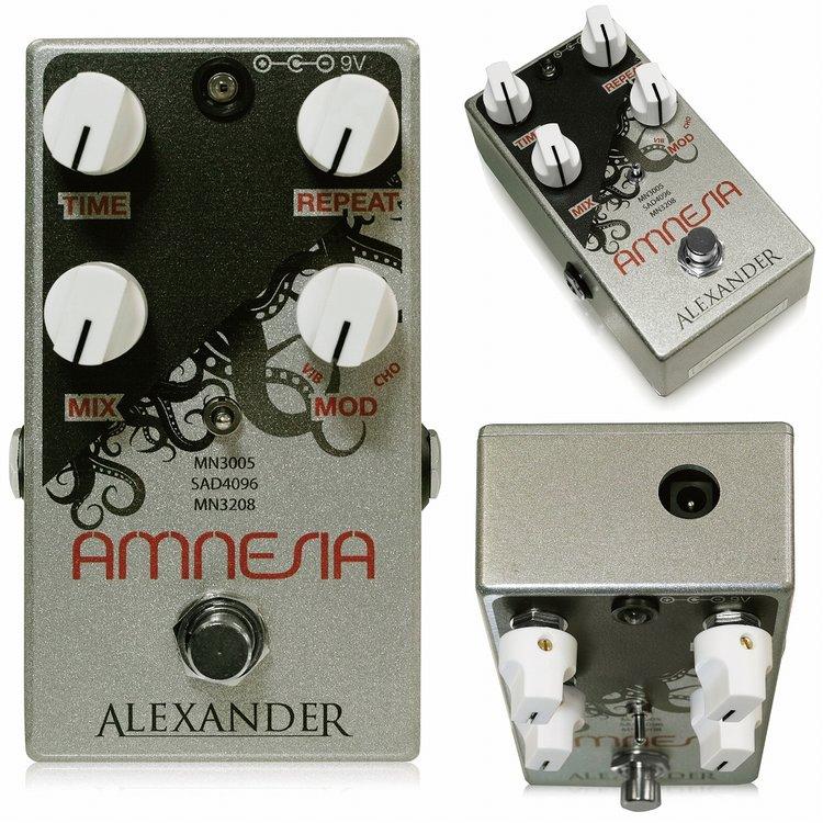 Alexander Pedals Amnesia 新品 ディレイ [アレクサンダーペダルズ][アムネジア][Delay][エフェクター,Effector]