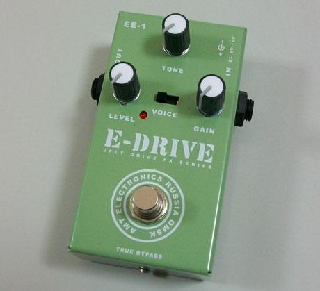 【受注生産】AMT E-Drive 新品 ディストーション [AMTエレクトロニクス][Eドライブ][Distortion][Effector,エフェクター]