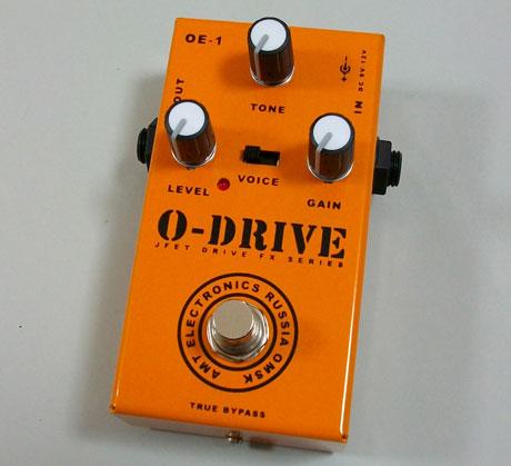 【受注生産】AMT O-Drive 新品 ディストーション [AMTエレクトロニクス][Oドライブ][Distortion][Effector,エフェクター]