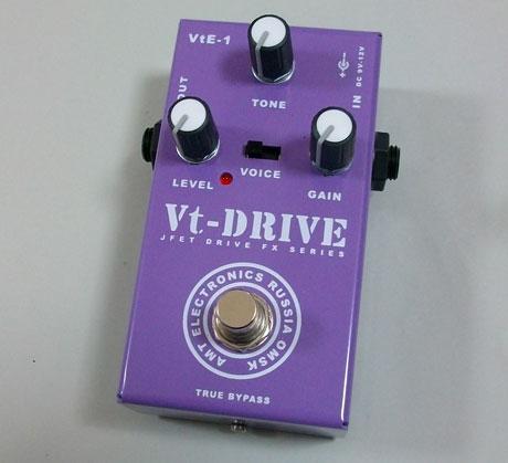 【受注生産】AMT Vt-Drive 新品 ディストーション [AMTエレクトロニクス][Vtドライブ][Distortion][Effector,エフェクター]