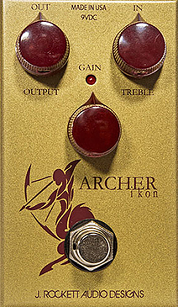 J.ROCKETT AUDIO DESIGNS Tour Series Archer Ikon 新品 [ジェイロケットオーディオ][アーチャーアイコン][オーバードライブ,ブースター][Effector,エフェクター,Pedal,ペダル]