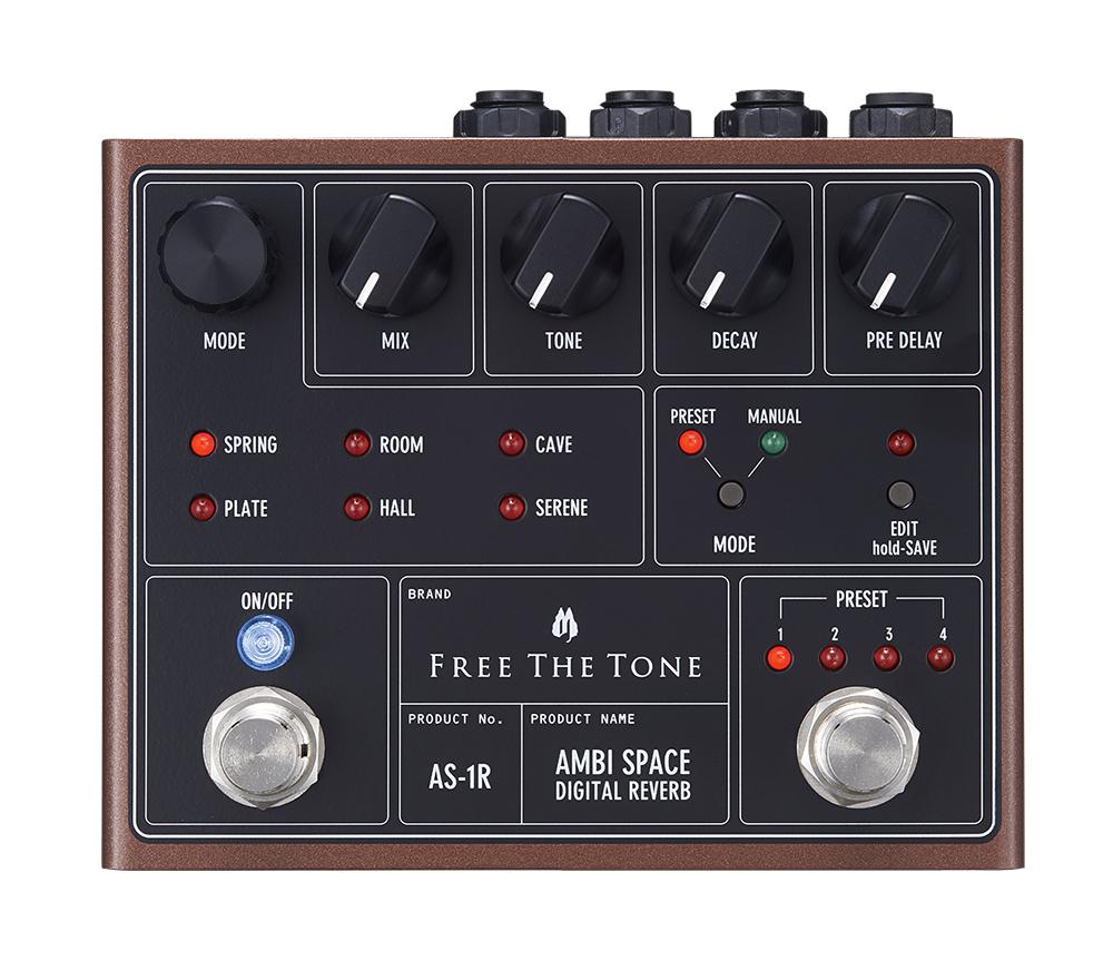 Free The Tone AS-1R 新品 デジタルリバーブ[フリーザトーン][Digital Reverb][Effector,エフェクター]