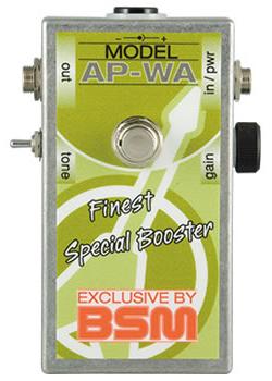 BSM AP-WA 新品 ミディアムゲイン・トレブルブースター[Booster][Andy Powell,アンディパウエル,Wishbone Ash][Effector,エフェクター]