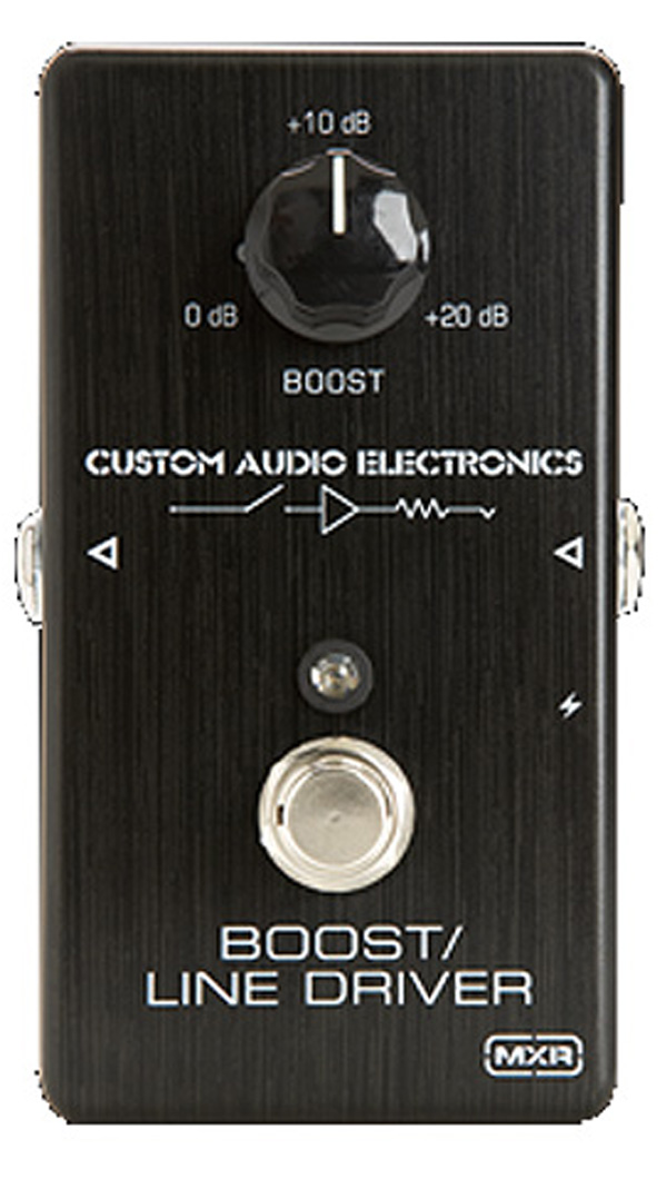 MXR × Custom Audio Electronics MC401 BOOST/LINE DRIVER 新品[ラインドライバー][クリーンブースター,Clean Booster][エフェクター,Effector][MC-401]_other