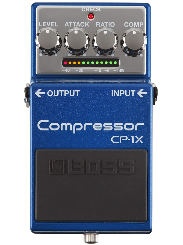 BOSS CP-1X 新品 Compressor[ボス][エフェクター,Effector][Compressor,コンプレッサー]