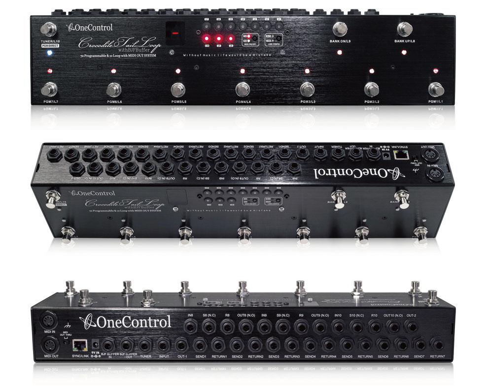 One Control Crocodile Tail Loop OC10 新品 プログラマブルスイッチャー[ワンコントロール][クロコダイルテイルループ][ラインセレクター][Effector,エフェクター]