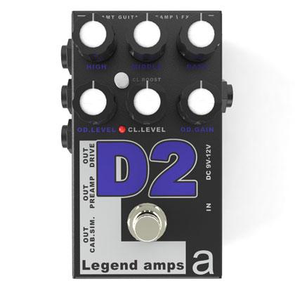 AMT Electronics D2 新品 ディストーション[AMTエレクトロニクス][Diezel][Distortion][Effector,エフェクター][D-2]