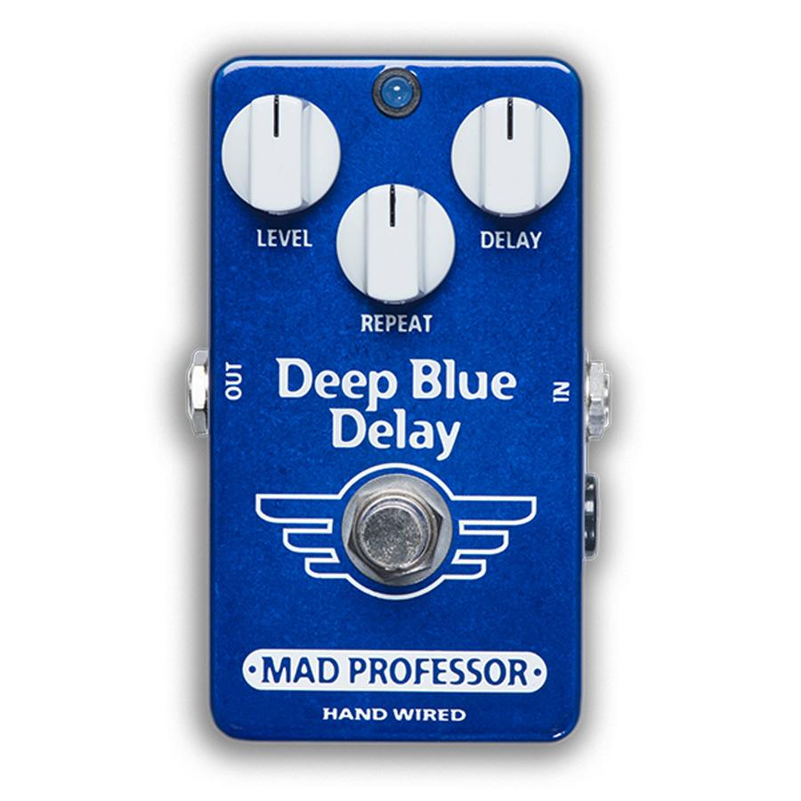 MAD PROFESSOR Deep Blue Delay Hand Wired 新品 ディレイ [マッドプロフェッサー][ハンドワイヤード][ディープブルー][Delay][Effector,エフェクター]