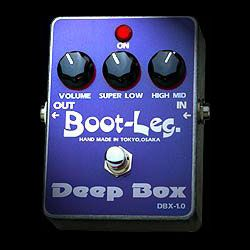 Boot-Leg Deep Box DBX-1.0新货平衡/升压器[引导装入程序腿][深的箱][DBX1.0][Effector,效应器]