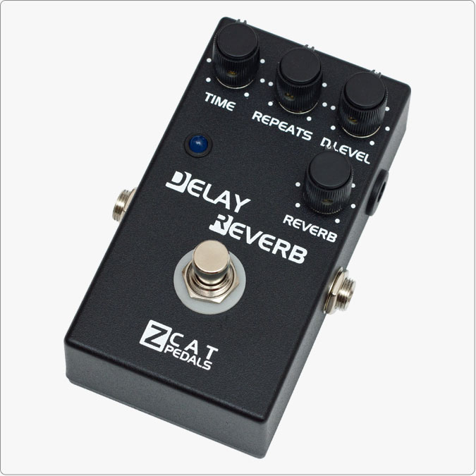 ZCAT Pedals Delay-Reverb 新品[ジーキャット][ディレイリバーブ][リバーブ][Effector,エフェクター]