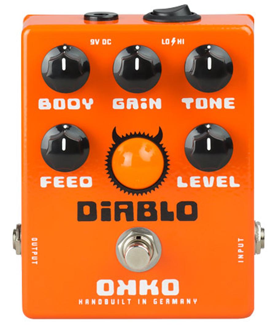 OKKO DiABLO 新品 オーバードライブ[オッコ][ディアブロ][OverDrive][Effector,エフェクター]