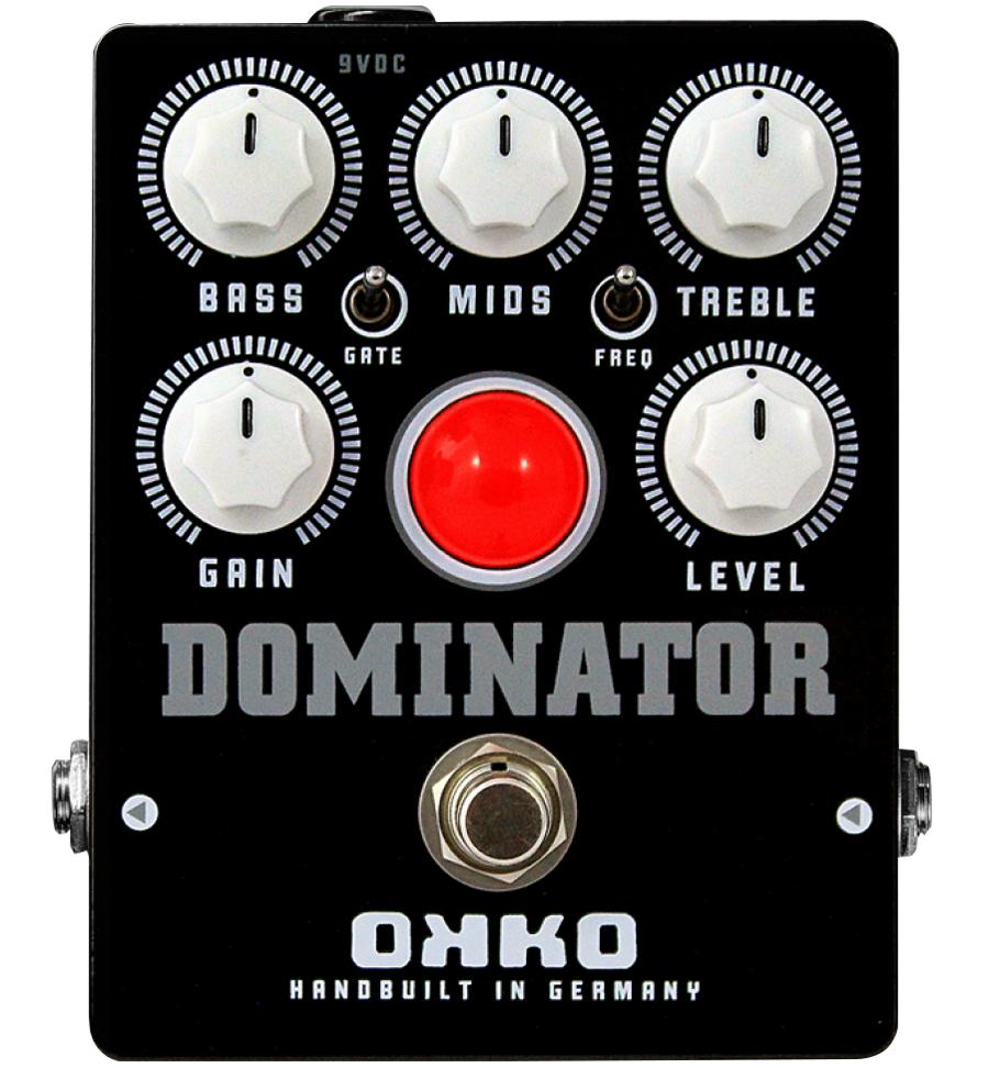 OKKO DOMINATOR 商品追加値下げ在庫復活 MK2 BLACK 記念日 新品 ディストーション エフェクター ブラック オッコ Effector Distortion ドミネーター