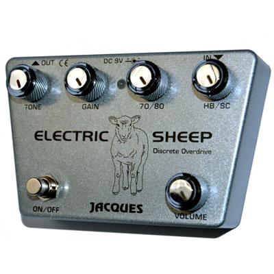 JACQUES Stompboxes Electric Sheep 新品 オーバードライブ[ジャック][エレクトリックシープ][Overdrive][Effector,エフェクター]