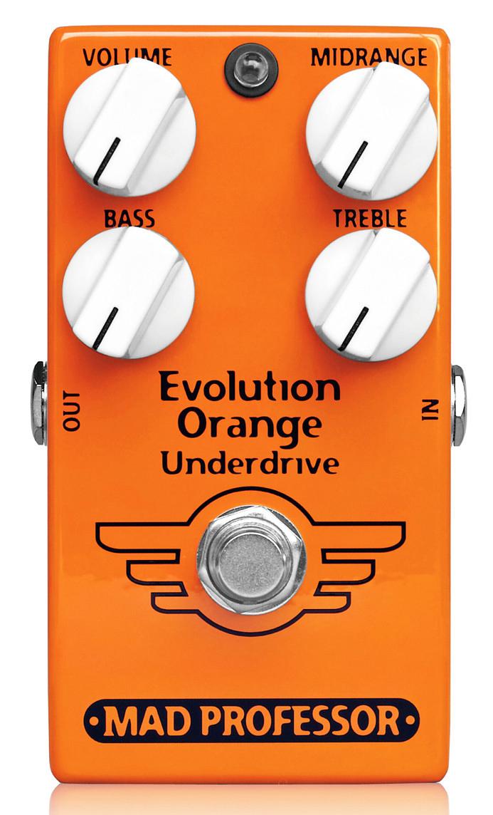 MAD PROFESSOR Evolution Orange Underdrive 新品 オーバードライブ[マッドプロフェッサー][エボリューションオレンジアンダードライブ][Overdrive][Effector,エフェクター]