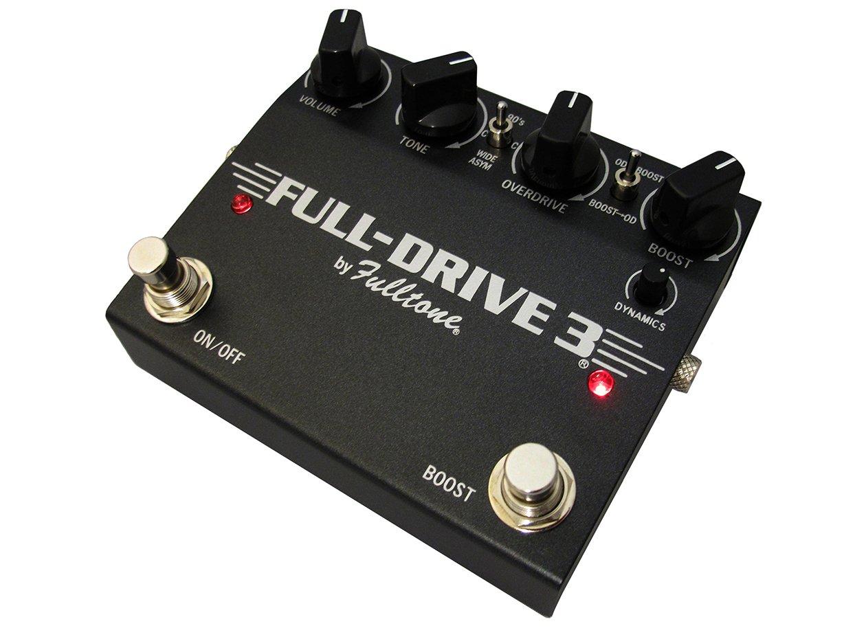 Fulltone FULL DRIVE 3 Black 新品 オーバードライブ[フルトーン][フルドライブ3][FD3][ブラック][Effector,エフェクター]